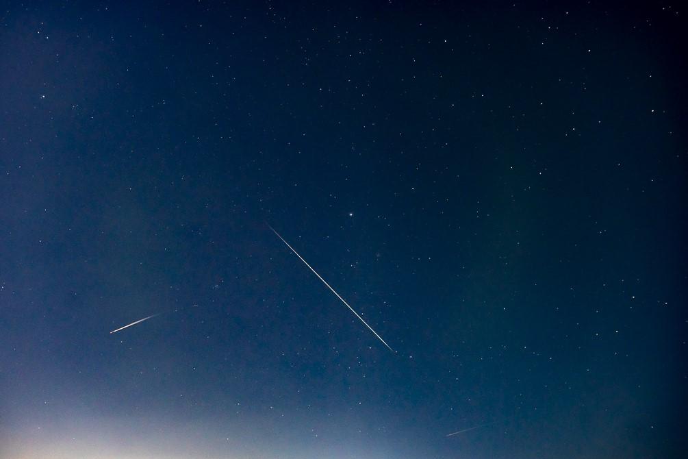 ふたご座流星群を見たよ