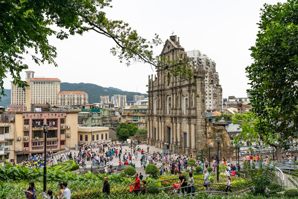 香港澳門旅行記2019 (3) ポール天主堂跡~散策と夕飯